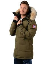 Canada Goose Jacket - Mens Carson Parka Jacket in Green
