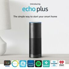 New 2017 Amazon Echo Plus with built-in Hub & Alexa + Philips Hue Bulb included