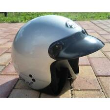 Airoh Angel Color Silber Jet Motorrad Helm Scooter City
