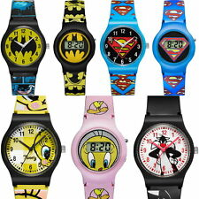 Warner Bros Boy/Girl Children Wrist Watch Analog/Digital Plastic