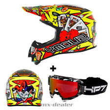 SUOMY Mr. Jump Jackpot AMARILLO CASCO CROSS MX Motocross HP7 GAFAS S M L