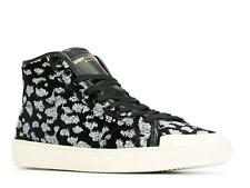 Sneakers alte Saint Laurent uomo in Velluto nero