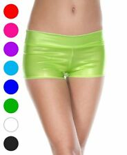 Pastel Color Booty Shorts With Waist Band - Music Legs 146