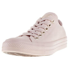 Converse Chuck Taylor All Star Ox Womens Pink Canvas Casual Trainers Lace-up