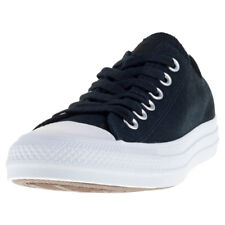 Converse Ctas Ox Holographic Womens Black Canvas Casual Trainers Lace-up