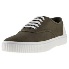 Fred Perry Barson Hommes Baskets Olive Neuf Chaussure