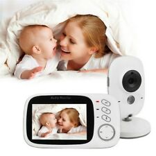 Baby Infants Digital Video Monitor Lcd Screen Camera Wireless Audio Night Vision