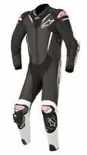 Alpinestars Atem V3 Suit-Black/White (12) 1 One Piece Leather Motorcycle Suit