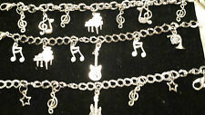 MUSIC CHARM BRACELETS, MOTHER'S DAY, EASTER, BIRTHDAY