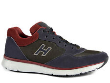 Sneakers Hogan Traditional 20.15 in suede con inserti in tessuto