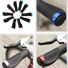 Cycling Mountain Bike MTB BMX Bicycle Double Lock On Handlebar Grips Ends 1 Pair
