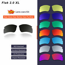 Polarized Replacement Lenses For-Oakley Flak 2.0 XL 9188 Sunglasses Sydney Stock
