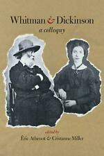 Whitman & Dickinson: A Colloquy by Eric Athenot Paperback Book Free Shipping!