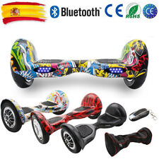 10'' Patinete Eléctrico Scooter Self Balancing Scooter Monociclo Bluetooth LED