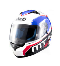 MT Helmets - Casco integral MT Blade SV Super rojo, azul