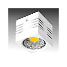 Downlight de LEDs de Superficie COB Cuadrado  Cuerpo Blanco 57x57mm 3W 270Lm 30.