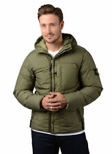 Stone Island Jacket - Mens 40223 Garment Dyed Crinkle Down Jacket in Army Green