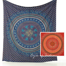 Large Queen Tapestry Wall Hanging Mandala Bedspread Boho Indian Bohemian Hippie