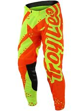 Pantaloni MX Bambino Troy Lee Designs 2018 GP Shadow Giallo-Arancio