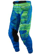 Pantaloni motocross Troy Lee Designs 2017 GP Electro Blu Scuro