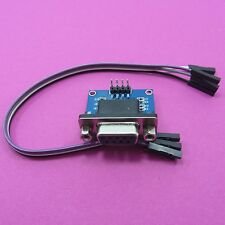 Female Converter Module Board MAX3232 RS232 Serial Port To TTL DB9 With Cable