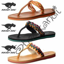 donna Rocket Dog Playa intreccio con motivo Flip Flops piatto
