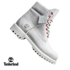 """Timberland 6"""" Exotic Boots Limited Release White Serpent Boots (TB0A1PKX) Junior"""