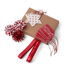 set accessori per pacchi regalo