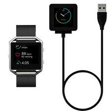 USB Charging Cable Charger For Fitbit Blaze Force Flex2 Surge Force Tracker Fad