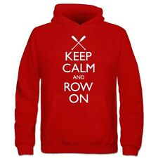 Sudadera con capucha niño Keep Calm And Row On