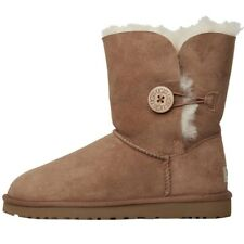 UGG Australia Womens Bailey Button Boots Chestnut