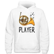 Sudadera con capucha niño French Horn Player Illustration