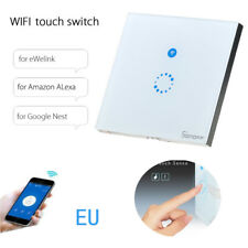Sonoff Touch US EU Smart WIFI APP Wall Light Touch Glass Panel Timing Switch IT