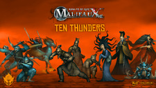 WYRD MINIATURES - MALIFAUX - TEN THUNDERS - VARIOUS CHARACTERS