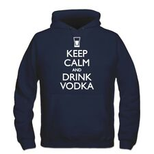 Sudadera con capucha Keep Calm and drink Vodka