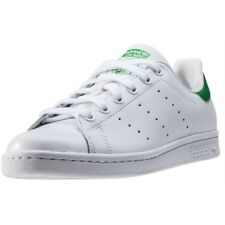 adidas Stan Smith Womens White Leather Casual Trainers Lace-up Genuine Shoes