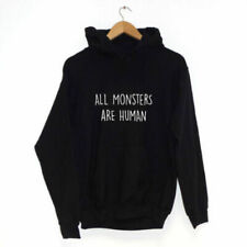 All Monsters are Human SUDADERA CON CAPUCHA varios colores Hipster Ropa
