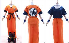 S-02 DRAGONBALL Z Son Goku Go survêtement cosplay 6 pièces costume orange