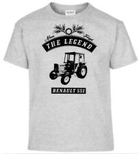 T-SHIRT, RENAULT 551 , Tractor,Tractor,Oldtimer,youngtimer
