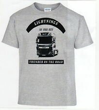 T-shirt, DAF XF Lightning,camion,Camionista,CAMION