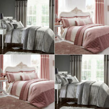 Catherine Lansfield Gatsby Sequin Duvet Cover Bedding Set & Curtains