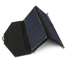 Negro 14W Portable Sunpower Solar Charger Panel plegable bolsa