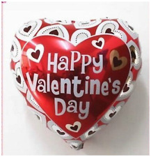 """18"""" Happy Valentines Day Foil Balloons I Love You Heart His/Her Gifts baloons"""