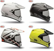 Bell mx-9 2018 ADVENTURE Adulto Casco de MOTO ataque NARANJA/amarillo/blanco/