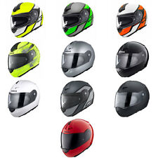Schuberth C3 Pro PLEGABLE DELANTERO Up Casco de MOTO