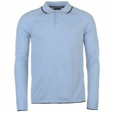 Polo Manches Longues Homme PIERRE CARDIN (Du S au XL) (Taille Grand) Neuf