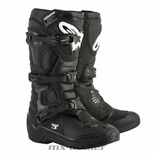18 ALPINESTARS NUEVO TECH3 TECH 3 ARRANQUE NEGRO MX Motocross Enduro Cross Boots