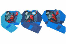 Pigiama Tuta Bambino MARVEL SPIDERMAN Original BLU ROYAL CELESTE Cotone