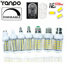 REGOLABILE LED mais LAMPADINE 6W to 30W E27 E14 G9 GU10 5730 SMD