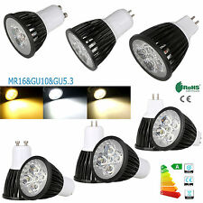 AU 3W -15W REGOLABILE GU10 MR16 gu5.3 LED faretto CREE / EPISTAR LAMPADINA